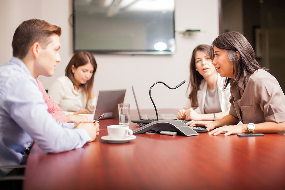Increase remote employee's productivity through virtual meeting